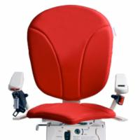 Red AmeriGlide Platinum Stair Lift Chair Option