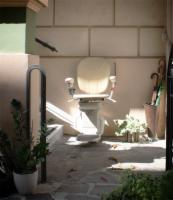 AmeriGlide Horizon Standard Outdoor Stair Lift